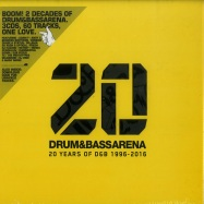 Front View : Various - DRUM & BASS ARENA - 20 YEARS (3XCD+MP3) - AEI MUSIC / DNBA020CD