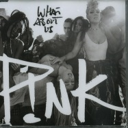 Front View : P!nk - WHAT ABOUT US (2-TRACK-MAXI-CD) - RCA Records / 88985481122
