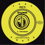 Front View : Dune (Ray Keith) - TOO MUCH - Anvance / ADVANCE001