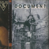 Front View : R.E.M. - DOCUMENT (LTD CLEAR ORANGE 180G LP) - Capitol / 6754058 / IRS-42059