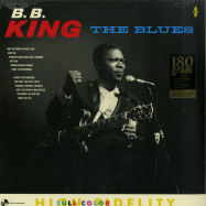 Front View : B.B. King - THE BLUES (LTD 180G LP) - Pan-AM Records / 9152314 / 9236948