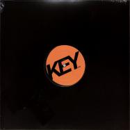 Front View : Linear Search - KOMA (VINYL ONLY) - Key Vinyl / KEY018