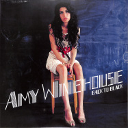 Front View : Amy Winehouse - BACK TO BLACK (UK-LP) - Universal / 4573221 / 602517341289