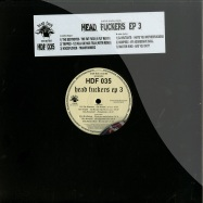 Front View : Various Artists - HEAD FUCKERS EP 3 (INCL. CD) - Head Fuck Records / hdf035