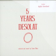 Front View : Various Artists mixed by Loco Dice - 5 YEARS DESOLAT (CD) - Desolat / DESOLATMIX001