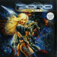 Front View : Doro - WARRIOR SOUL (LTD. BLUE 2LP) - Rare Diamonds Productions / RDP005-V