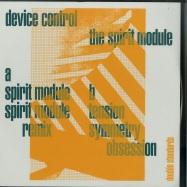Front View : Device Control - THE SPIRIT MODULE (GREEN VINYL) - Double Standards / DBLSTAN001