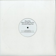 Front View : Maceo Plex - WHEN THE LIGHTS ARE OUT (EXTENDED GARAGE MIX) - White Label / MP001