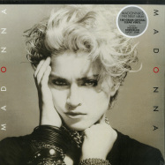 Front View : Madonna - MADONNA (LP, 180G, CRYSTAL CLEAR VINYL) - Rhino / 0349784930