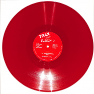 Front View : SLEEZY D Marshall Jefferson - IVE LOST CONTROL (RED VINYL REPRESS) - Trax / TX113RED