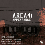 Front View : Various Artist - AREA41 APPEARANCE1 - Genera41 / G41V001