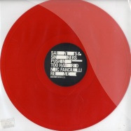 Front View : Saints & Sinners - PUSHIN TOO HARD / NIC FANCIULLI RMX (Red Coloured Vinyl) - Bedrock / Bed9NF20106