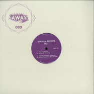 Front View : V/A (Move D, GummiHz, Away Soundsystem, Auditory Response) - NO 1 - Away Berlin / AWAY003