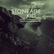 Front View : Stoneage Kid - INTO DEPRAVITY EP - Smile For A While / S4AW009