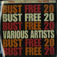 Front View : Various Artists - BUST FREE 20 (LTD SPLATTERED VINYL LP) - Cold Busted / CB20