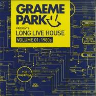Front View : Various Artists - GRAEME PARK PRES. LONG LIVE HOUSE VOL.1: 1980S (2LP) - Rhino / 8828300