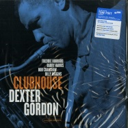 Front View : Dexter Gordon - CLUBHOUSE (180G LP) - Blue Note / 7718776