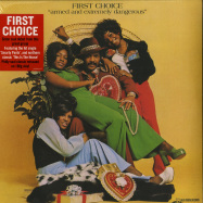 Front View : First Choice - ARMED EXTREMELY DANGEROUS (LP) - Demon Records / DEMREC516