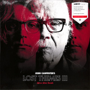 Front View : John Carpenter - LOST THEMES III - ALIVE AFTER DEATH (LTD RED LP) - Sacred Bones / SBR265LPC1 / 00143442