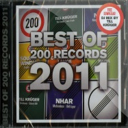 Front View : Various Artists - THE BEST OF 200 RECORDS 2011 (CD) - 200 Records / 200 CD 002