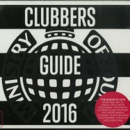 Front View : Ministry Of Sound Pres. - CLUBBERS GUIDE 2016 (2XCD) - Ministry Of Sound Uk / moscd437