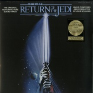 Front View : John Williams - STAR WARS: RETURN OF THE JEDI O.S.T. (LTD GOLDEN 180G LP) - Sony Music / 88985321111
