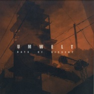 Front View : Umwelt - DAYS OF DISSENT (2x12 INCH, COLOURED VINYL - Boidae / BOIDAE001