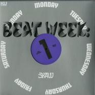 Front View : Sun Raw - BEAT WEEKS (LP + MP3) - King Underground / KU-017