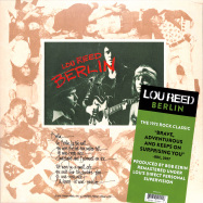 Front View : Lou Reed - BERLIN (LP) - RCA Records / 88985349051