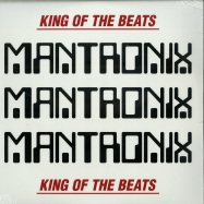 Front View : Mantronix - KING OF THE BEATS (1985-1988) (LTD RED & WHITE 2LP) - Traffic / TEG76536CLP