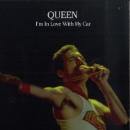 Front View : Queen - IM IN LOVE WITH MY CAR EP (RED 7 INCH) - Rocks Lane / KITTY27EP002-C