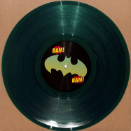 Front View : Unknown - THE WORRIES / BAM BAM (CLEAR GREEN 10 INCH) - Vibez 93 / NAUGHTY93002