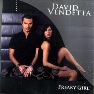 Front View : David Vendetta - FREAKY GIRL (Maxi-CD) - News / 541416502611