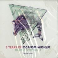Front View : Various Artists - 5 YEARS OF ESCAPISM MUSIQUE- SUMMER COMP VOL 4 (CD) - Escapism Musique / EM060CD