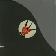 Front View : Pedestrian & Jasperdrum - ORIGINS / KALAKUTA (ALIX PEREZ REMIX) (RED MARBLED VINYL) - 2nd Drop Records / 2ndrp12031