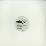 Front View : V/A (Hugo LX, Malin Genie, DJ Steaw, Franck Roger) - MLIU 16 (2X12 INCH, 180 G VINYL) - My Love Is Underground / MLIU 16
