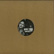 Front View : Various Artists - NEW YORK UNDERGROUND 1 - New York Underground / NYU1
