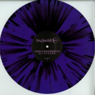 Front View : Cari Lekebusch - NO SYSTEM (PURPLE / BLACK SPLATTER VINYL) - H-Productions / HYB033