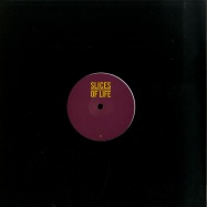 Front View : Cab Drivers / Oscar Schubaq / DJ Deep - SLICES OF LIFE 10.2 (STANDARD BLACK COVER) - Slices of Life / SOL10.2