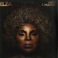 Front View : Elza Soares - DEUS E MULHER (180G LP) - Polysom (Brazil) / 333451