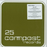 Front View : Various Artists - 25 COMPOST RECORDS (10X12 INCH BOX) - Compost / CPT544-1