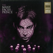Front View : Prince / Various Artists - THE MANY FACES OF PRINCE (PURPLE 180G 2LP) - Many Faces Of / VYN019