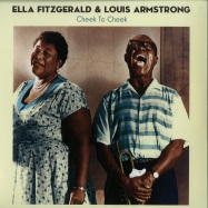 Front View : Ella Fitzgerald & Louis Armstrong - CHEEK TO CHEEK (180G LP) - Wagram / 05141491