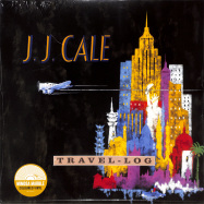 Front View : J.J. Cale - TRAVEL-LOG (LTD MARBLED LP) - Sony Music / 19439798211