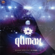 Front View : Qlimax LIVE - THE LIVE RESITRATION SPEZIAL 3DICE EDITION (BLUE RAY / DVD / CD) - Cloud9 / qdacm2011001