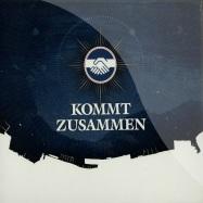 Front View : Various Artists - KOMMT ZUSAMMEN (CD) - 3000 Grad Records CD 04