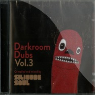 Front View : Various Artists (compiled & mixed by Silicone Soul) - DARKROOM DUBS VOL.3 (CD) - Darkroom Dubs / DRDCD006