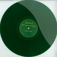 Front View : Rhythm Factory - THISTLE EP (GREEN COLOURED VINYL) - Rawax Limited / Rawax004LTD