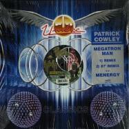 Front View : Patrick Cowley - MEGATRON MAN / MENERGY - Unidisc / spec1454