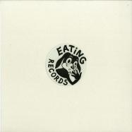 Front View : iO (Mulen) - FLUTE / CREEPS (WHITE VINYL / 180G / VINYL ONLY) - Eating Records / EAT002C